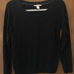 Victoria Secret Black Long Sleeve Shirt